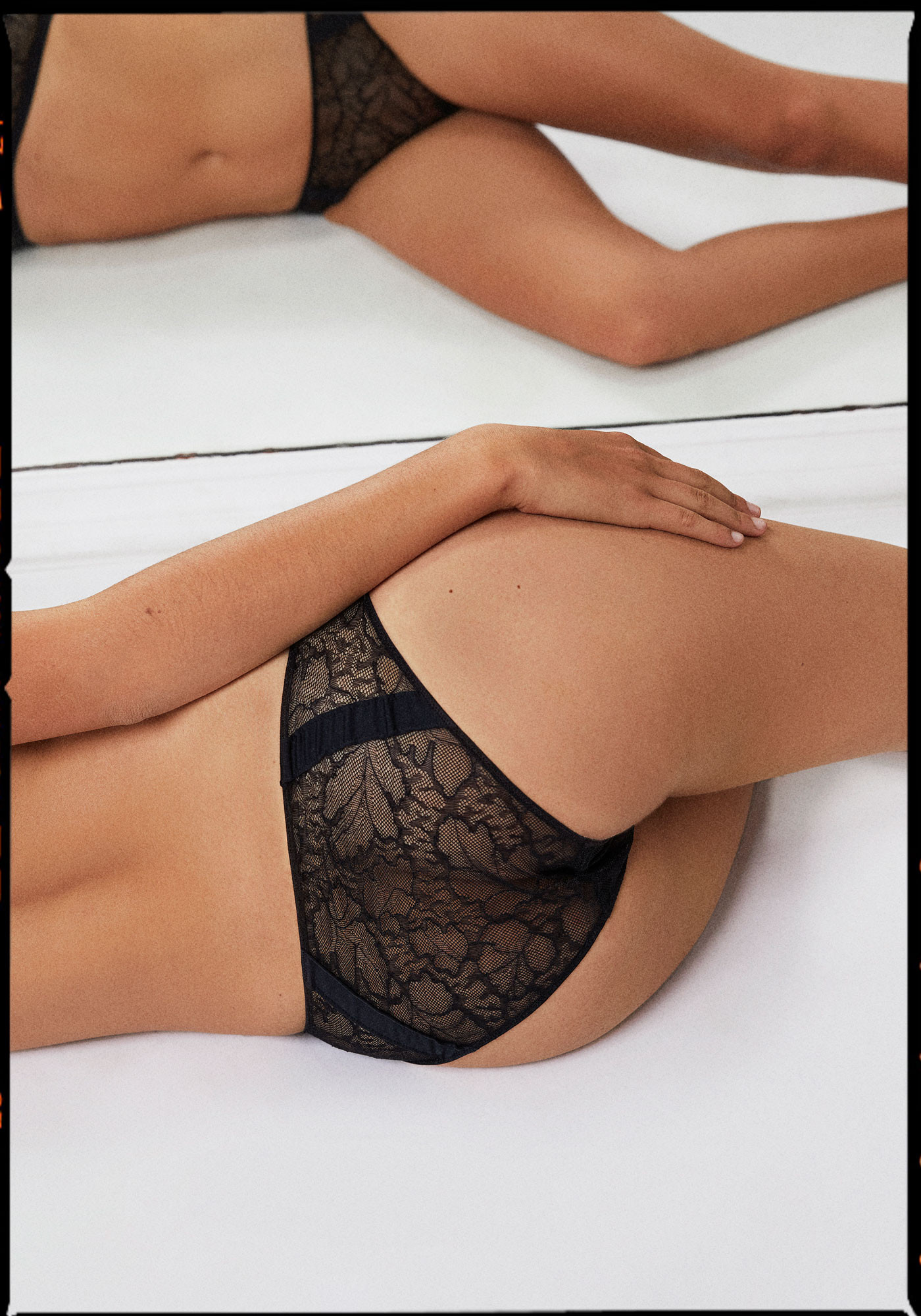 Lace brief - Persée